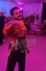 Video exclusiv   Faza anului la nunta lui What's Up! Liviu Varciu a prins buchetul miresei si a anuntat ca isi cauta urgent nevasta