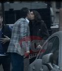 Andrei Hrebenciuc isi saruta sotia cu foc in plina strada! Este totul roz la inceput de 2017! Video exclusiv