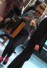 Raluca Podea si-a scos fizicul debordant la mall si a lins provocator o inghetata! | VIDEO