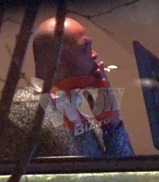 "Cabral a dat caldura din restaurant pe frigul de afara, de dragul unei tigari! A ""postit"" cu un prieten acelasi chistoc VIDEO EXCLUSIV"