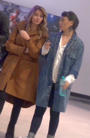 Laura Cosoi si Aylin Cadir au iesit cu partenerii la film VIDEO EXCLUSIV