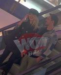 Lidia Buble si Razvan Simion, criza de ras pe scara rulanta la mall! Matinalul stie foarte bine cum sa-si distreze iubita VIDEO EXCLUSIV