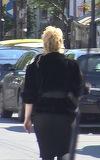 Oana Lis, aparitie de vise rele in buricul targului. Cum a iesit blonda din casa! VIDEO EXCLUSIV