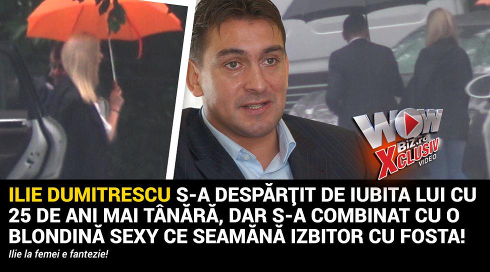 Ilie Dumitrescu s-a despartit...