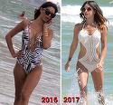In 2016 am avut primele poze cu Natalia Mateut tunata, la plaja!  Cum arata acum silicoanele lui Naty la un an distanta?! VIDEO EXCLUSIV
