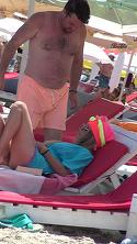 Gratiela intinereste, iar Andrei Duban atent o pazeste! Imagini spectaculoase la mare cu o familie fericita  VIDEO