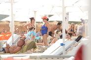 Primele imagini cu Ozana Barabancea in costum de baie dupa operatia prin care si-a micsorat stomacul! Cum arata soprana... la plaja | VIDEO EXCLUSIV