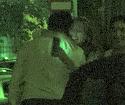 Corina Bud, scurta intalnire cu un tanar la miezul noptii!! A plecat de la o petrecere si s-a oprit sa salute un frumusel VIDEO EXCLUSIV