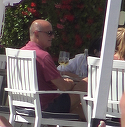 George Copos s-a intors la prima dragoste! A aparut pe litoral intr-un tricou in culoarea oficiala a Rapidului VIDEO EXCLUSIV