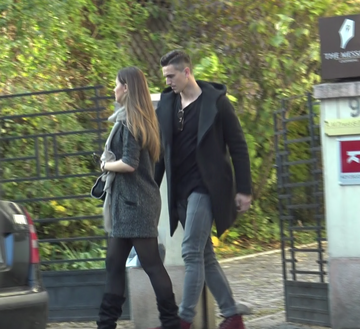 Fotbalistul Gardos si-a adus sotia, model international,  la Bucuresti! In vara au facut nunta ca-n filme VIDEO