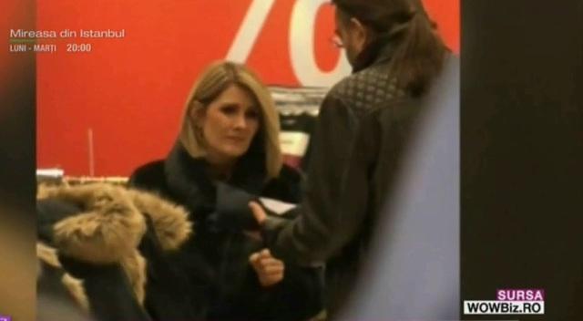 Sandra Stoicescu e consilier pentru sotul ei... la haine! Cum a fost surprinsa la cumparaturi!