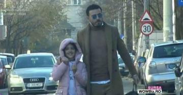 Imagini de colectie cu Adrian Cristea si fetita lui! Printul e cel mai grijuliu tatic!