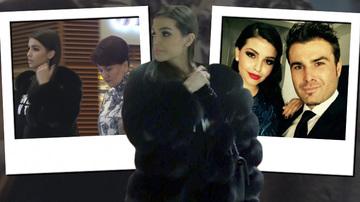 """Sandra Mutu a facut furori in mall cu o jacheta de blana de 1500 de euro! Modelul purtat de sotia """"Briliantului"""" este unul de fita si atrage toate privirile! Video exclusiv"""