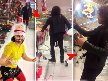 """Pepe a declansat operatiunea """"Goana dupa cadou""""! Imagini antologice cu interpretul carand doua carucioare doldora cu jucarii, in ajun de Craciun! VIDEO EXCLUSIV"""