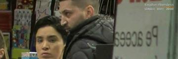 Adelina Pestritu si iubitul, imbratisari la mall! Bruneta si Virgil au fost nedespartiti la plimbarea prin centrul comercial