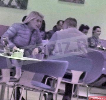 Ce a facut-o pe Leta Ilie sa se agite in fata iubitului! Fosta nevasta a lui Sabin Ilie a fost mai vulcanica in prezenta noul barbat din viata ei atunci cand a iesit cu el intr-o cafenea din mall VIDEO EXCLUSIV