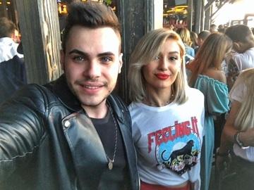 Cu ce blonda sexy a iesit Mircea Eremia la film! Paparazzii WOWbiz.ro i-au surprins impreuna VIDEO EXCLUSIV