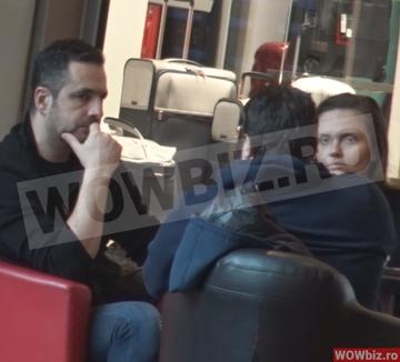 Incredibil, ce se intampla cu Madalin Ionescu si Cristina Siscanu?! Cei doi soti erau suparati in mall si aveau o discutie aprinsa