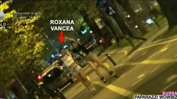Cat de sexy e Roxana Vancea pe role! S-a aplecat si si-a aratat posteriorul
