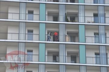 Ea e prima persoana care a stat de vorba cu vecina sinucigasa a Nicoletei Luciu! Vezi ce a determinat-o pe femeie sa nu se arunce de la etajul 13