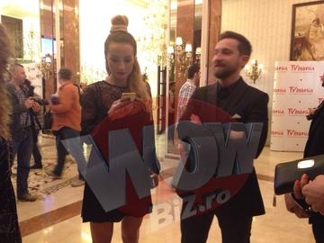 FOTO EXCLUSIV! Dani Otil si Flavia, din ce in ce mai apropiati! Uite-i din nou impreuna la un eveniment monden!