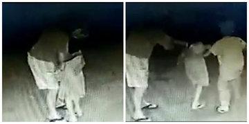 Si-a dat pantalonii jos, apoi a inceput sa sarute o fetita! Cum a fost filmat acest pedofil in actiune