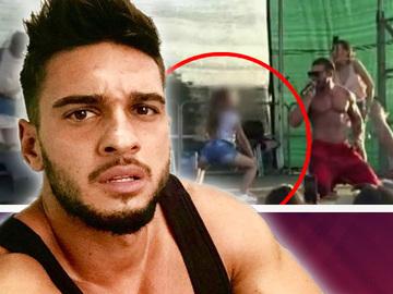 Imagini scandaloase cu o fetita dansand lasciv pentru Dorian Popa si publicul de la concertul lui! Reactia artistului dupa scandal!