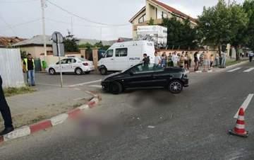 Accident mortal in Targoviste! Un barbat a fost ucis pe trecerea de pietoni! E incredibil cine era la volanul care l-a lovit din plin