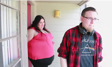 Cea mai grasa femeie din lume a ramas insarcinata! Ce vrea sa faca acum