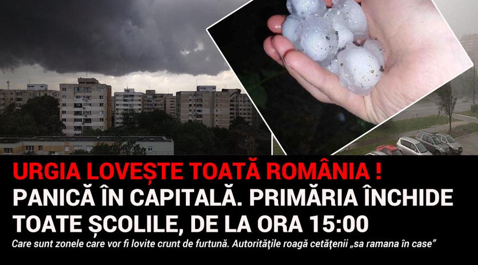 Panica in Capitala! Vine...