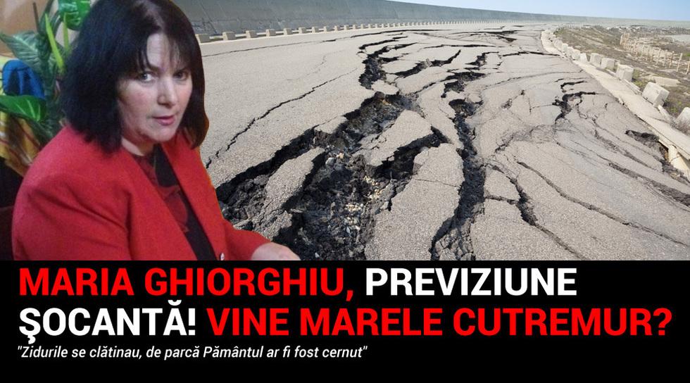 Maria Ghiorghiu trage un...