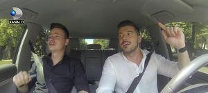 Victor Slav, talente nebanuite! Prezentatorul TV a demonstrat tuturor cum se canta in masina! Iata cum a depasit Victor testul de vedeta!