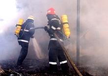 Incendiu intr-un bloc din Capitala. Aproximativ 90 de persoane au fost evacuate