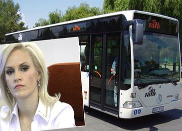 Gabi Firea, primarul general al Bucurestiului, vrea sa cumpere 200 de autobuze second hand pentru RATB!