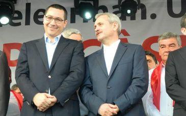 """Victor Ponta isi sarbatoreste astazi ziua de nastere. """"Sa ai un an mai bun si fara nedreptati!"""", i-a urat Dragnea. Intrebat ce isi doreste, fostul premier a raspuns: """"Am tot ce mi-am dorit"""""""
