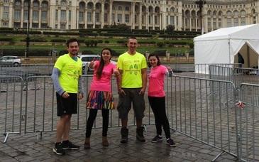Sora Aurei Ion, tanara moarta in accidentul aviatic din Apuseni, a participat la maratonul din Bucuresti
