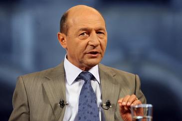 Traian Basescu, primul pe listele PMP la Senat, in Bucuresti