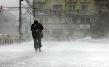 Meteorologii au emis o avertizare de cod galben de vant puternic in noua judete