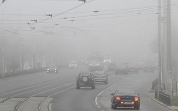 Cod galben de ceata in judetele Cluj, Brasov, Harghita, Covasna si Mures