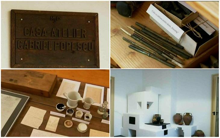 Casa atelier din Vulcana, unica in tara! Monumentul care adaposteste operele celui mai stralucit artist gravator din Romania