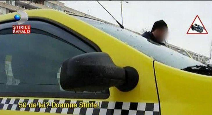 Fara 50 de lei nici nu pornesc motorul! Taximetristii profita de vremea de afara si umfla preturile - Iata tupeul cu care le vorbesc clientilor!