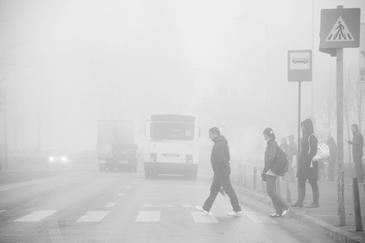 Opt judete sunt sub avertizare cod galben de ceata