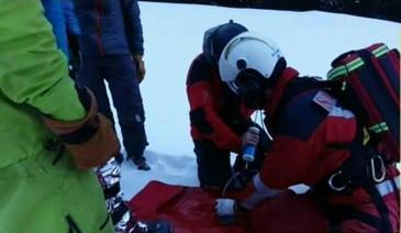 Operatiune de salvare cum n-ati mai vazut in Muntii Fagaras. Cum au reusit salvamontistii sa recupereze un turist accidentat grav
