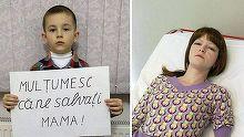Mama lui sufera de cancer la san de gradul IV. Mesajul cutremurator transmis de baiatul de 8 ani