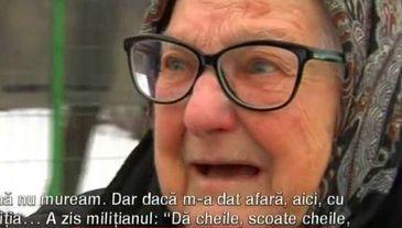 Si-a vandut propria mama pentru casa in care locuieste! Batrana de 87 de ani a ramas pe drumuri, ca un caine al nimanui