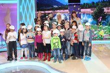 """Kanal D si-a deschis portile pentru """"Scoala Altfel"""". Zeci de copii au luat in stapanire platourile emisiunilor si si-au cunoscut vedetele preferate"""