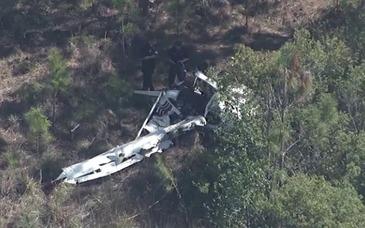 Doua avioane s-au ciocnit in aer si s-au prabusit intr-o padure din Florida. Fiecare avea la bord o singura persoana. Nimeni nu a supravietuit