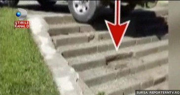 Tupeul soferului din Constanta, care s-a urcat cu Jeepul pe scari, a fost sanctionat de politie. Autoritatile s-au autosesizat