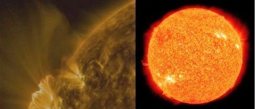 Fenomen solar rar, surprins de NASA