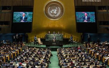 Cum a mers ambasadorul din Papua Noua Guineea la o intalnire ONU! Fotografia cu el a devenit virala pe retelele de socializare